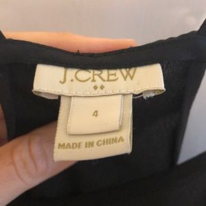 J. Crew Tops - J Crew black camisole tank
